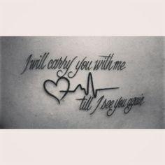 The Best Rip Tattoo Quotes - Tattoo vorlagen - tattoos Trendy Tattoos, Cute Tattoos, Small Tattoos, Awesome Tattoos, Tattoos Motive, Tatoos, In Memory Tattoos, In Remembrance Tattoos, Tattoos Skull