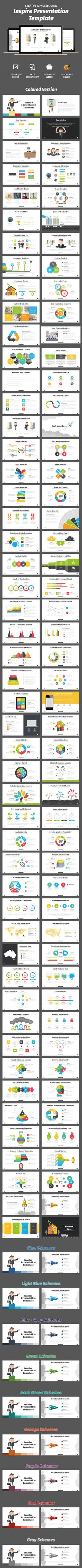 #Inspire Powerpoint Template - #Business #PowerPoint Templates Download here: https://graphicriver.net/item/inspire-powerpoint-template/11740606?ref=alena994