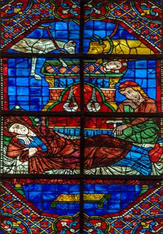 Cathédrale de Chartres Medieval Stained Glass, Grisaille, Stained Glass Windows, Christianity, Glass Art, Religion, My Arts, French, Glass