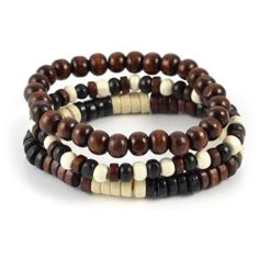 Buy Lucleon - Surfer Bracelets for only Shop at Trendhim and get returns. Surfer Bracelets, Bracelets For Men, Beaded Bracelets, Diamond Bracelets, Bracelet Cuir, Braided Leather, Wooden Beads, Stone Beads, Jewerly