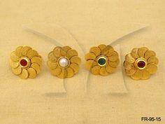 FR-95-15 || Manekratna Laxmi Coin Finger Ring