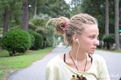 Love the simple dread updo