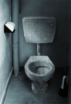 Crazy as it is-i love this  glittery toilet
