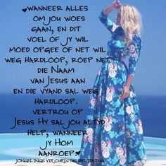 Here is by jou in woeste tye. Afrikaanse Quotes, Simply Life, Special Words, Silhouette Cameo Projects, Godly Woman, Party Hats, Verses, Life Quotes, Qoutes