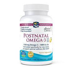 Nordic Naturals Postnatal Omega-3 - Formulated Specifical...