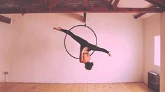 Make a reel. -M There's a couple little qualities of transitions and what not in this video -M    Little Bit- Aerial hoop