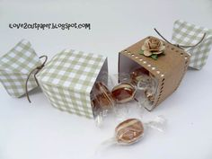 i love 2 cut paper: Friday FREEBIE - 2 Piece Cracker Favor Box Project