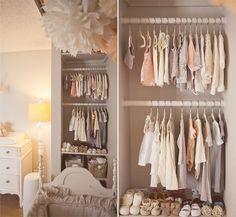 Baby girls closet. No nasty frilly crap
