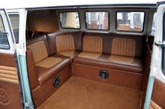 vw bus interior | Just a car guy : VW type 2 / kombi / mini bus ... whatever the correct ...