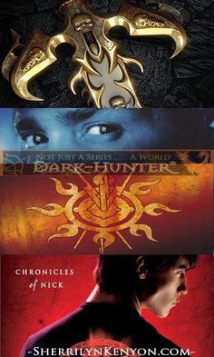 Sherrilyn Kenyon #1 Bestselling Book Series. The League (SF), Dark-Hunter (UF), Chronicles of Nick (YA)