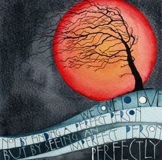 Perfectly By Sam Cannon Art Watercolour, pen and gouache on paper www.samcannonart.co.uk