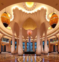 Things to Do in Dubai : Illustration Description Atlantis the Palm ranks among the most luxurious hotels in the World. – Read More – Islamic Architecture, Beautiful Architecture, Architecture Design, Hotel Architecture, Home Interior, Luxury Interior, Interior Design, Contemporary Interior, Interior Ideas
