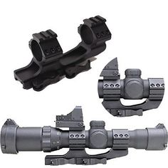 Air Guns & Slingshots Outdoor Sports Careful Rock Solid Sturdy 30mm Dual Rifle Scope Mount Rings W/ Picatinny Tops To Adopt Advanced Technology