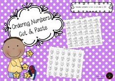 A cute cut and paste activity for students to order numbers.To allow differentiation in your classroom, this package contains numbers 1-10, 1-20 and 1-30.Includes a dragon set and a chick set.Early finishers can colour in the cute pictures!You might also like:Ordering Numbers 1-20 - Jack and the BeanstalkOrdering Numbers 1-20 CaterpillarDotty Numbers For Number Formation PracticeI Have Who Has - Numbers 0-20Daily Writing Numbers Practice Booklet** This product may be printed and photocopied…