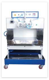 Nitrogen Flushing & Sealing Machine is used for sealing pouches and is responsible for increasing shelf-life of products like chips, dry fruits, cheese, rice, sweets and others.  http://www.elegantpackagingmachines.com/flushing-sealing-machine.html