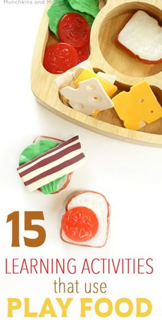 15 Learning Activities That Use Play Food