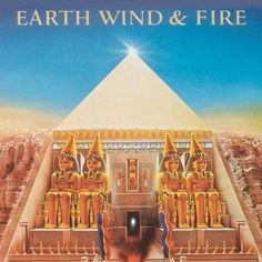 Earth Wind & Fire : All 'N All (LP, Vinyl record album) - Genius, pure genius! It was hard for Earth, Wind & Fire to go wrong at this point – and t -- Dusty Groove is Chicago's Online Record Store Lps, Sheila E, Smooth Jazz, Illuminati, Earth Wind & Fire, Pochette Album, Music Album Covers, Music Albums, Kalimba