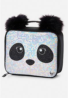 Shop our Sparkle Panda Wristlet. Cute Backpacks, Girl Backpacks, School Items, School Bags, Justice Backpacks, Sac Lunch, School Accessories, Justice Clothing, Panda Love