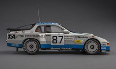 Porsche 924 Carrera GTR, winner of the IMSA GTO class in the 1982 24 Hours of Le Mans. 1:18-scale resin replica by TSM.