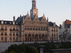 The lovely town hall on the Grande Place in the centre of Saint-Quentin.Famous…