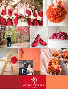 While it means the cold weather is near, we just love fall! After a long hot summer, there's nothing better than breaking out those comfy sweaters and watching the green leaves transform into a breathtaking array of oranges and reds. And, what better way to get in the spirit of the season than with some equally gorgeous fall wedding colors and details!