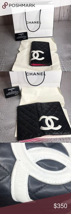 e9d712af7a Authentic chanel long wallet Lamb skin Great preloved condition beautiful  wallet have some flaws exterior see