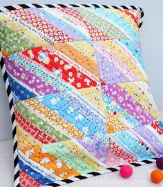 I May Have A Scrap Problem.... A Great Idea! | Confessions of a Fabric Addict | Bloglovin'