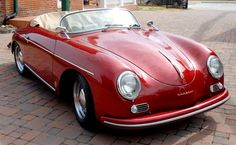 Porsche 356 – classic and red