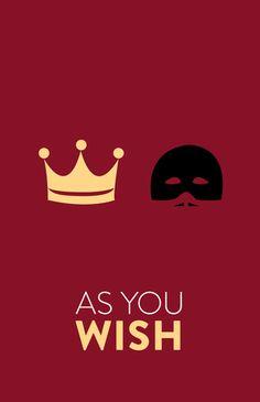 The Princess Bride (1987) ~ Movie Quote Poster by Hayley Lane #amusementphile