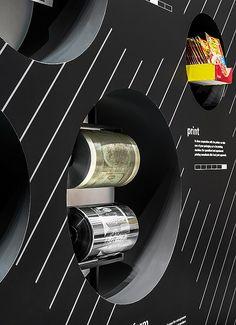 Janoschka – drupa 2012, Düsseldorf. Ein Projekt von Ippolito Fleitz Group – Identity Architects.