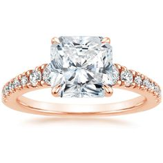 14K Rose Gold Simone Diamond Ring (1/2 ct. tw.) from Brilliant Earth