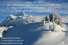 Now that you've had a chance to recover from the holidays and are settling into 2015.... come over to ‪#‎RamblrChat‬ tonight to chat about where you'll be going in 2015! https://twitter.com/ramblRramblR/status/552234657979187200/photo/1