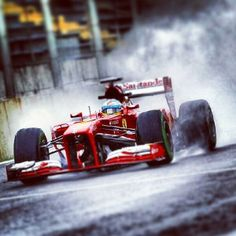 Alonso, Interlagos Brazil 2013 - an amazing qualifying performance from the Spaniard.
