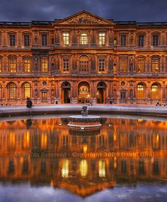 Cour Carree, Louvre | Paris, France