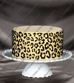 Leopard Silicone Onlay