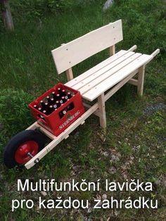 Multifunkční lavička pro každou zahrádku