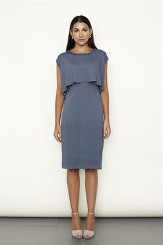 Nursing dress for Kate's wedding (French navy)