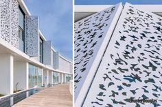Bespoke design adds elegance to Hunter Douglas folding shutters at Mediterranean complex   Building Specification