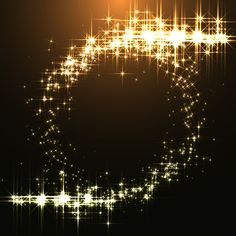 Golden stars light with dark background vector Sparkles Background, Waves Background, Frame Background, Lights Background, Vector Background, Picture Borders, Fashion Design Template, Love Backgrounds, Golden Star