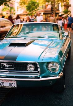 Happy 49th birthday to the Ford Mustang!