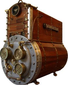 Amazing Steampunk computer! I saw the gentlemen make this and it's amazing! Just a beautiful functional piece of craftsmanship.