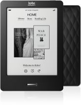 Kobo Touch, so light! No need to carry these heavy guides/books anymore.