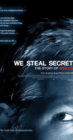 Directed by Alex Gibney.  With Julian Assange, Adrian Lamo, Chelsea Manning, John 'Fuzface' McMahon. A documentary that details the creation of Julian Assange's controversial website, which facilitated the largest security breach in U.S. history.