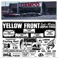 Yellow Front Ad