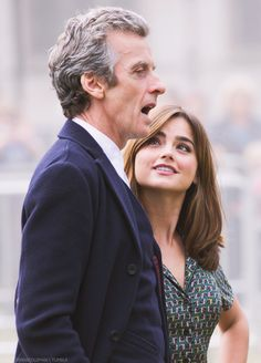 Peter & Jenna - Doctor Who Photocall at Parliament Square ~ 22 August 2014