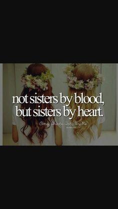 """""""sorelle non di sangue ma per scelta"""""""
