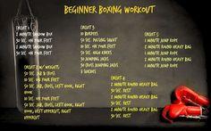 beginner boxing workout 2