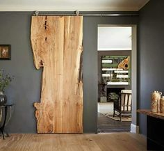 Elegant Sliding Barn Door Slab