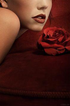 zoegem-heartofanangel: Los labios de pétalos de rosa suaves, beso de dicha aterciopelada, su siempre…©{zb}
