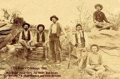 OS Ranch Cowboys, 1888 - Garza County, Texas